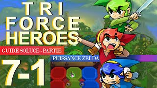 Soluce Tri Force Heroes : Niveau 7-1