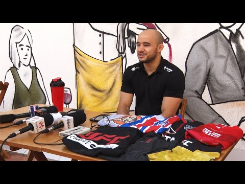 Marlon Moraes faz doação para a Apae de Nova Friburgo e projeta futuro no UFC