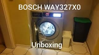 BOSCH WAY327X0 Unboxing, Anschluß und Testlauf.