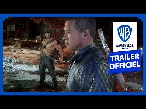 Rambo et Terminator s'affrontent dans un combat sanglant  de Mortal Kombat 11 Ultimate
