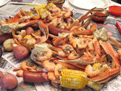 Ultimate Seafood Feast The Boil Recipe!
