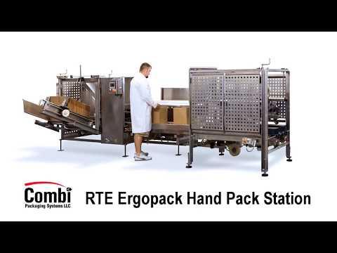 RTE Sanitary Ergopack Hand Pack Station
