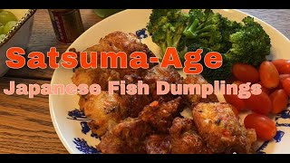 Satsuma-Age (Fish Dumplings)