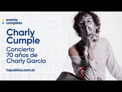 Charly García cumple 70 años: concierto homenaje en vivo, en el Centro Cultural Kirchner