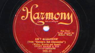 Ain't Misbehavin' by Jerry Mason and his Californians