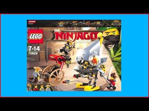 LEGO Ninjago 70629 Piranha Attack Construction Toy - UNBOXING