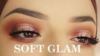 Easy Soft Glam Eye Makeup Tutorial | Anastasia Beverly Hills Stila