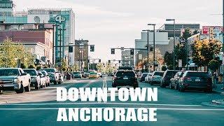EXPLORING DOWNTOWN ANCHORAGE, ALASKA