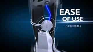 Video: Aircast AirSelect Standard Walking Boot