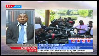 Media Freedom in Africa at a glance on Press Freedom Day: Victor Bwire-Deputy CEO Media Council