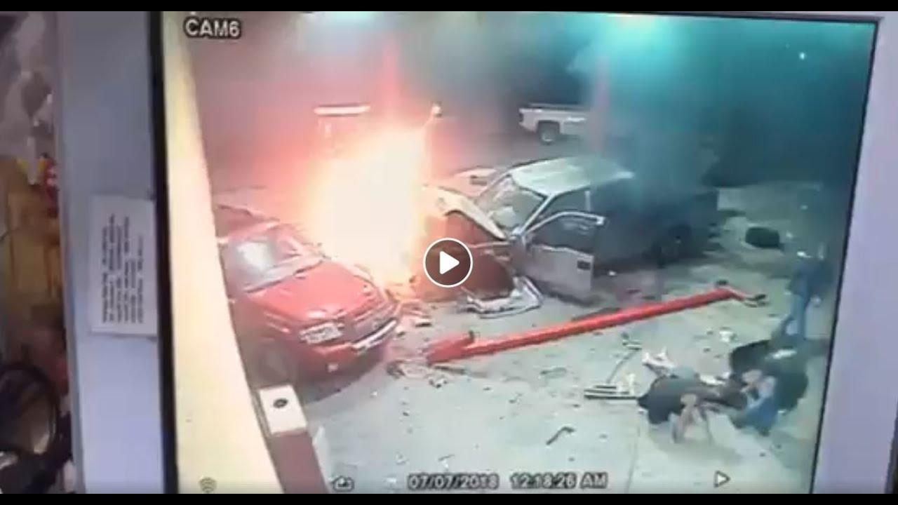 У них в Америке что нет огнетушителей?