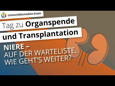 Voraussetzung zur Listung der Niere: Auf der Warteliste – wie geht´s weiter?