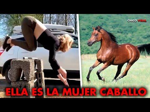Video: Sus videos siguen viralizandose: una mujer se autopercibe como caballo