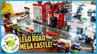 LEGO BRICKHEADZ CITY With Police and Construction Vehicles and Firetrucks!