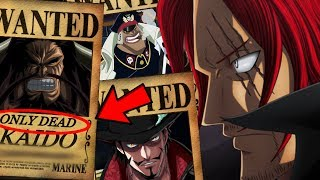 Top 10 Highest Unknown Bounties - Predictions (One Piece Chapter 881+)