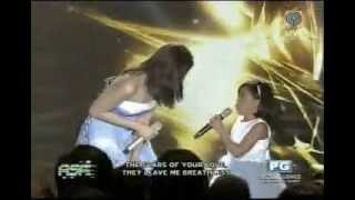 ASAP Sarah Geronimo and Lyca Gairanod - Rolling in the Deep 08/17/14