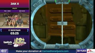 Jak II by Sickynar in 1:02:59 - SGDQ2017 - Part 90
