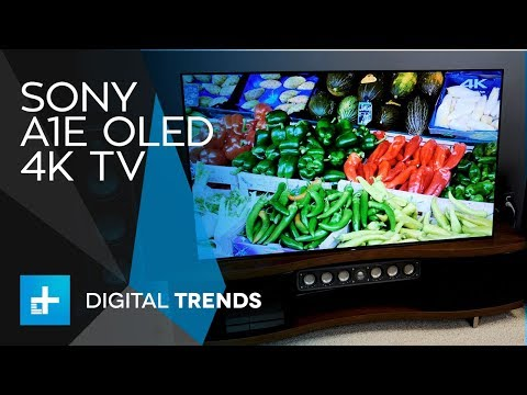 Sony A1E OLED 4K TV – Hands On Review
