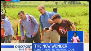 Mai Mahiu fault lines becomes the new wonder that attracts local and international tourists