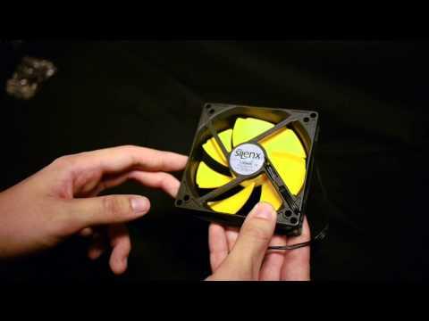 SilenX EFX-10-12 Effizio 100mm Silent Case Fan Review