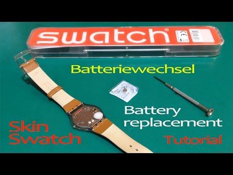 Skin Swatch Batteriewechsel