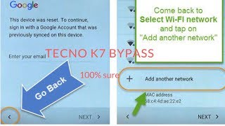 BYPASS/REMOVE FRP ON INFINIX X606B,X606,X606C,X606D-NO PC