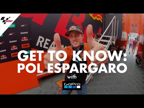 Get to know Pol Espargaro with GoPro™