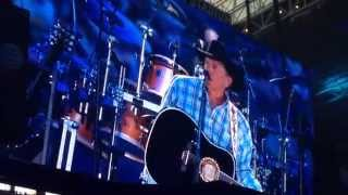 George Strait 2014 Final concert at AT&T Stadium - River of Love