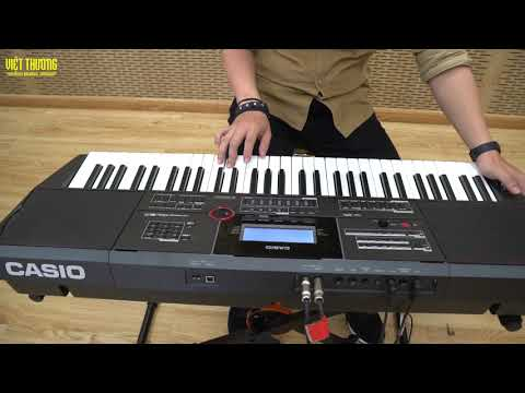 Demo đàn organ Casio CT-X5000
