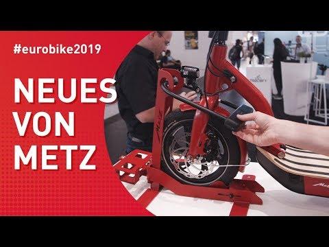 Eurobike 2019 - Neues von Metz für E-Roller und E-Bike