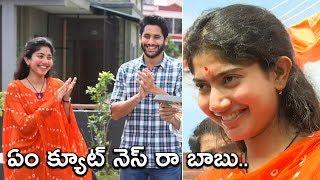 Sai Pallavi Cuteness Overloaded At Shekar Kanmula New Movie Launch With Nagachaitanya