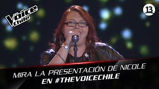 The Voice Chile | Nicole Neira - Killing me softly