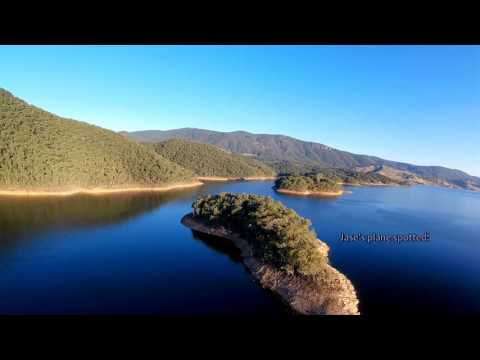 dji-mavic-pro--mini-talon-plane--sunset--formation-at-blowering-reservoir