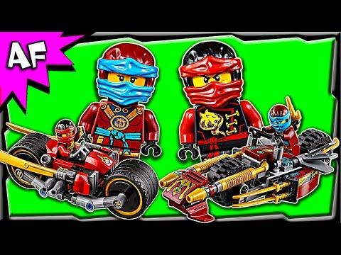 Vidéo LEGO Ninjago 70600 : La poursuite en moto des Ninja