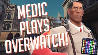 MEDIC Plays OVERWATCH! Soundboard Pranks & Hilarious Reactions!