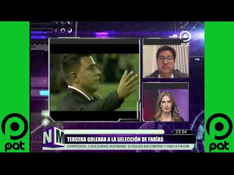 [VIDEO EN NM]Tercera goleada a la selección de FARÍAS @NO MENTIRAS