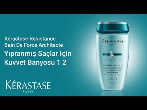 Kerastase Resistance Bain De Force Architecte Yıpranmış Saçlar İçin Kuvvet Banyosu (1-2) 250ml