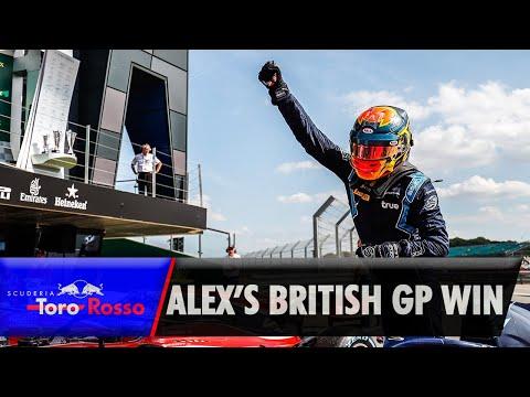 Alex Albon's British GP Win (2018)