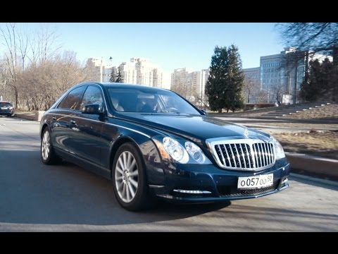 Maybach 57S vs Mercedes-Maybach V12