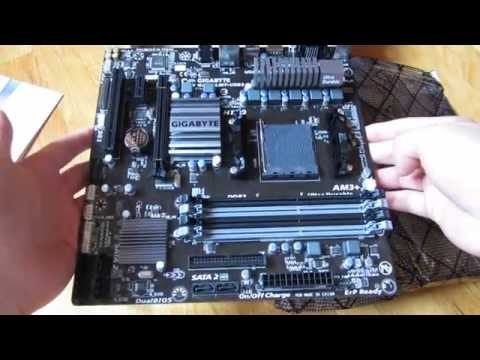 Gigabyte AM3+ GA-78LMT-USB3 Motherboard Inch by Inch Close-Up View