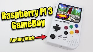 Raspberry Pi 3 GameBoy!