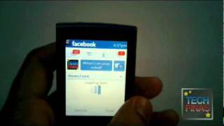 Nokia X3-02 Touch and Type Facebook for Ovi