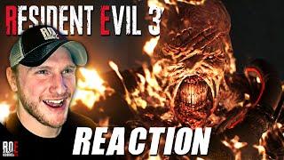 RESIDENT EVIL 3: REMAKE    NEMESIS TRAILER   REACTION & DISCUSSION