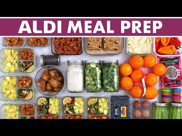 Healthy Aldi Meal Prep for the Week & Haul! + INSTANT POT recipe!