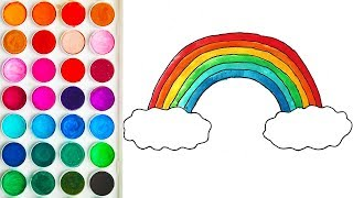 Coloring Rainbow for Baby, Coloring Books for Babies