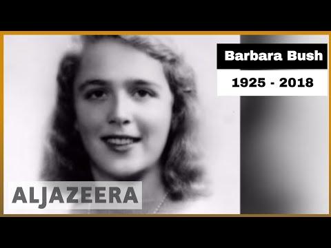 🇺🇸 Former US First Lady Barbara Bush dies aged 92 | Al Jazeera English