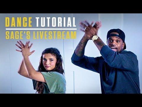 Step Up: High Water | Dance Tutorial | Sage's Livestream