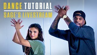 Step Up: High Water | Dance Tutorial | Sage's Livestream