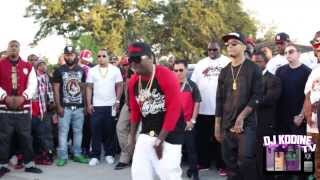 "Lil KeKe ft. Kirko Bangz ""Worry Bout You"" Video (Behind The Scenes) DJ KODINE TV"