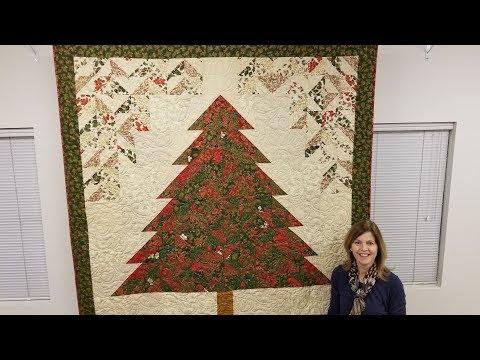 Strip Tube Tannenbaum   Christmas Tree Quilt!